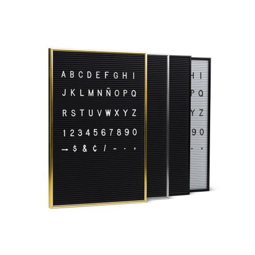 Set de Letras 3/4 de Pulgada PPCD-G165