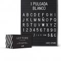 Set de Letras 1 Pulgada PPCD-G166