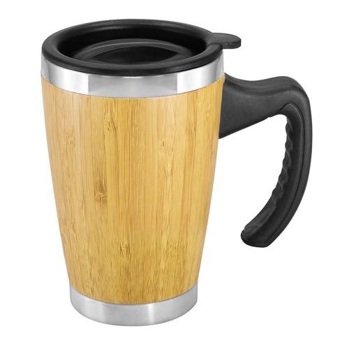 Mug de Bamboo con Asa Plástica PPPI-B64